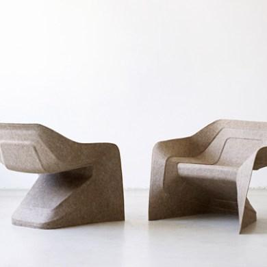 เก้าอี้วางซ้อนจากป่าน ปอ  15 -
