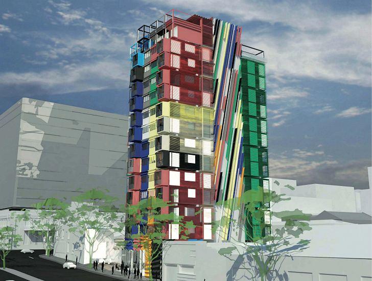 เปลี่ยนตู้คอนเทนเนอร์เป็นอาคารหลายรูปแบบ 13 - Architecture