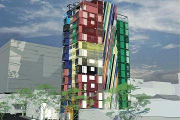 เปลี่ยนตู้คอนเทนเนอร์เป็นอาคารหลายรูปแบบ 12 - Architecture