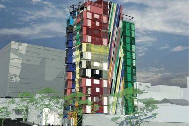 เปลี่ยนตู้คอนเทนเนอร์เป็นอาคารหลายรูปแบบ 17 - container