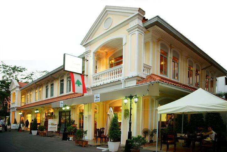 Nadimos..ร้านอาหารเลบานีส ใจกลางสีลม 13 - lebanese Restaurant Bangkok