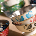 Eva Hand Painted Tiffin 17 - Containers