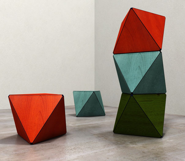 %name POLYHEDRON STOOL