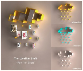 %name  The weather shelf : Rain for Brain
