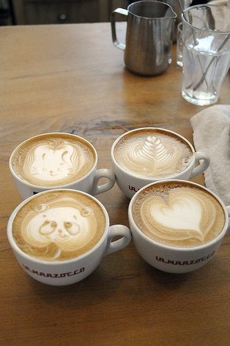 ศิลปะบนกาแฟ@Cafe Rosso 13 - Cafe Rosso