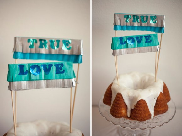DIY : Cake Topper 19 - DIY