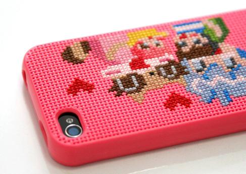 iphone4+Cross Stitch=case 13 -