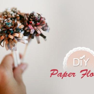 DIY paper flower 21 - DIY