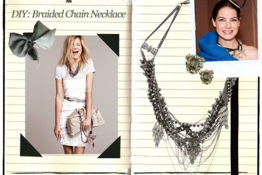 DIY Chain Necklace 23 - DIY