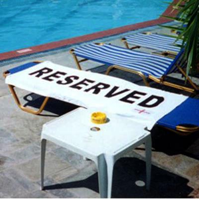 Reserved Beach Towel 15 - Beach