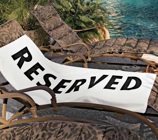 Reserved Beach Towel 13 - Beach