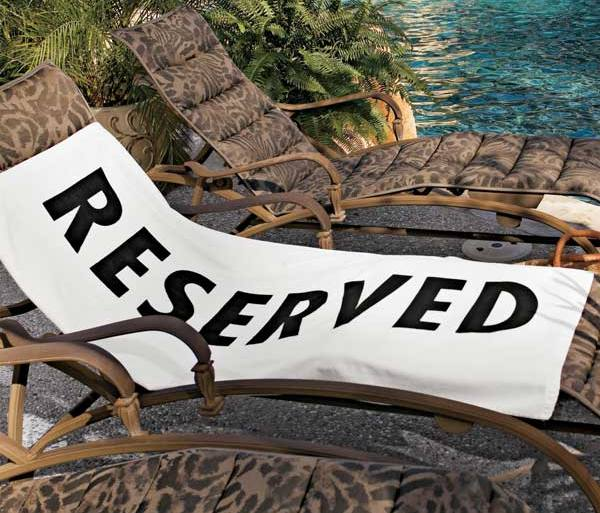 Reserved Beach Towel 21 - Beach