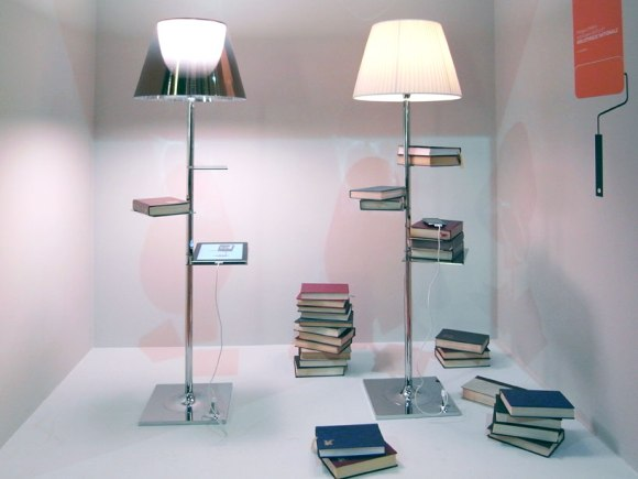 bibliotheque nationale 14 - Lamp