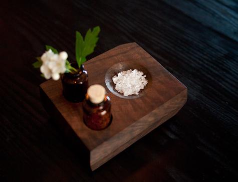 DIY project: Wood bud vase and Salt dish 17 -