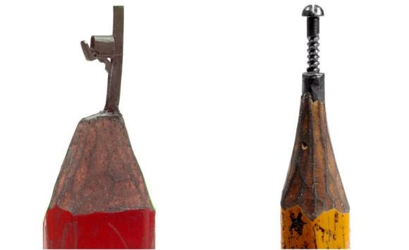sculptures จากดินสอ 16 - Dalton Ghetti