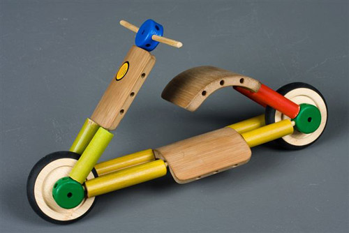 20 Bamboo toy workshop in China