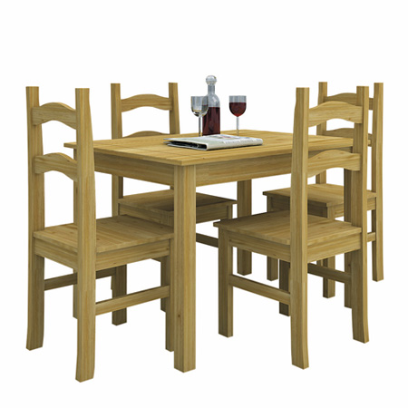 6 โต๊ะอาหารไม้จริง 4 ที่นั่ง COLLETTO ราคา 8990 บ.1 แต่งบ้านด้วยแรงบันดาลใจจากธรรมชาติ by Index Living Mall