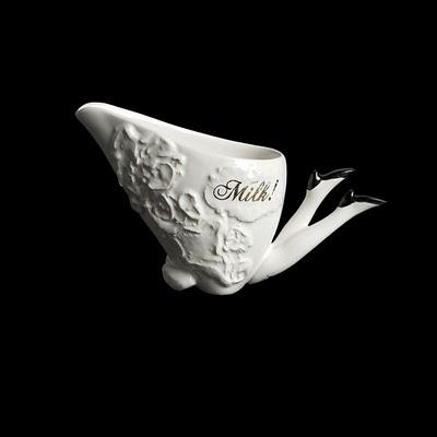 Tea set with legs 17 - ceramic