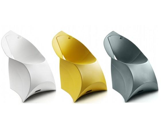 Flux Chair..เก้าอี้จากไอเดียงานพับกระดาษของญี่ปุ่น พับเก็บง่าย น้ำหนักเบา ไม่เปลืองที่ 17 - chair