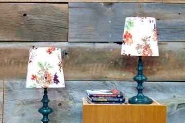 DIY.vintage lamp 2 - lampshade