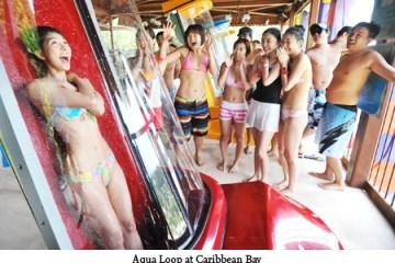 Aqua Loop เครื่องเล่นสุดชิคที่สวนน้ำ Caribbean bay 16 - Aqua Loop