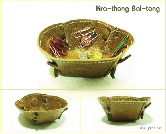 Kanom-Thai Bai-tong 16 - Bai tong