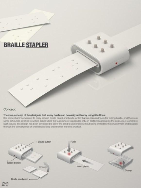 copy 2011 2 580x773 Braille stapler งานออกแบบเพื่อผู้บกพร่องทางสายตา