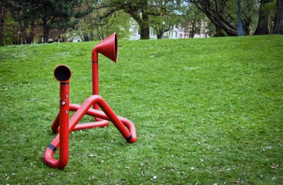 Interactive Sound Sculpture 16 - Interactive Sound