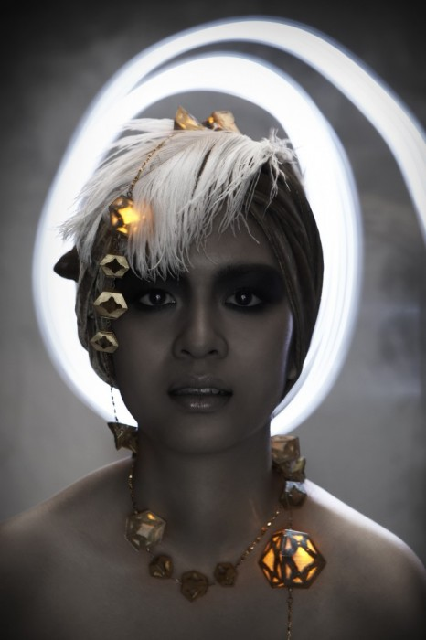"""Lanna"" Gold Lantern  13 -"