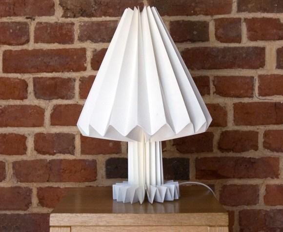 sadako01 580x476 Sadako paper lamps