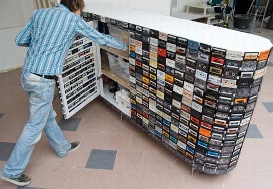 ของใช้สุดแนว..จากเทปคาสเซ็ทที่กำลังถูกโลกลืม  15 - cassette tapes