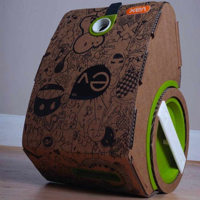 vacuum cleaner เครื่องดูดฝุ่นจากกระดาษลูกฟูก 16 - cardboard
