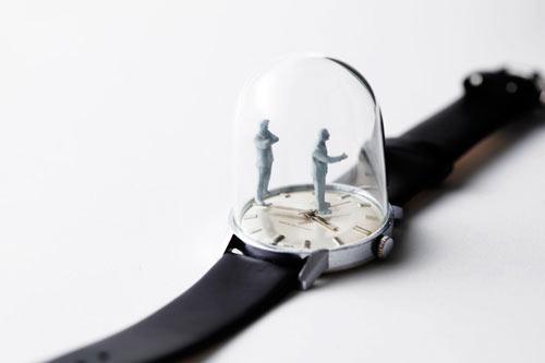 Watch Sculptures 18 - Dominic wilcox