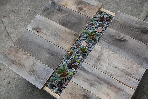 5389314546 a90f7aabbc D.I.Y.โต๊ะปลูกต้นไม้..จากลังไม้เก่า