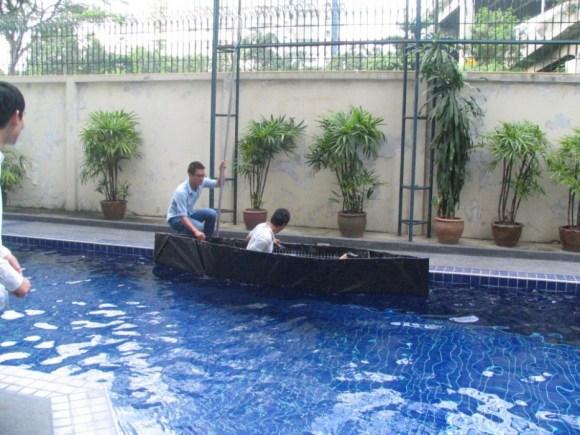 Homemade emergency boat 19 - DIY