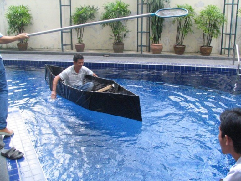 Homemade emergency boat 13 - DIY