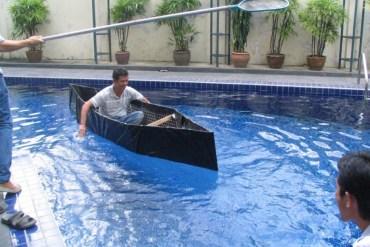 Homemade emergency boat 29 - DIY