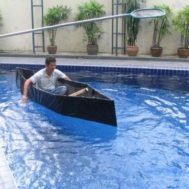Homemade emergency boat 22 - DIY