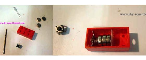 F1 DIY เลโก้ไฟฉายพกพา ยามน้ำท่วม