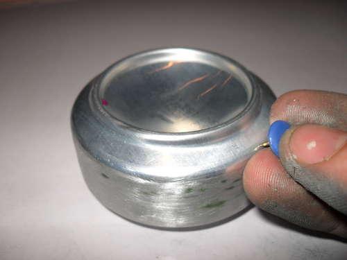 DIY เตาแอลกอฮอล์จากกระป๋องน้ำอัดลม 23 - DIY