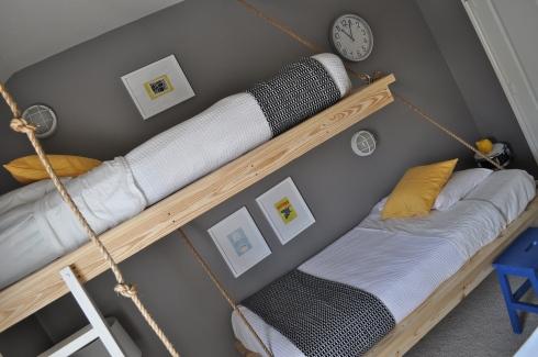 Hanging Beds เตียงนอนลอยหนีน้ำท่วม 13 - Beds