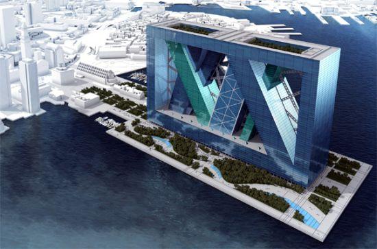 โลกวันพรุ่งนี้ เราอาจต้องปรับตัวอยู่กับน้ำ Floating Architecture 6 - Architecture