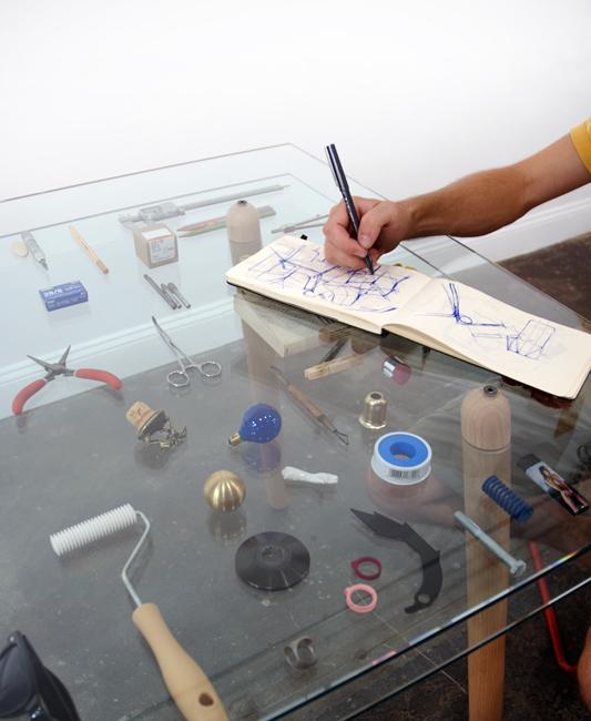 Dyvel table 15 - Silva Bradshaw studio