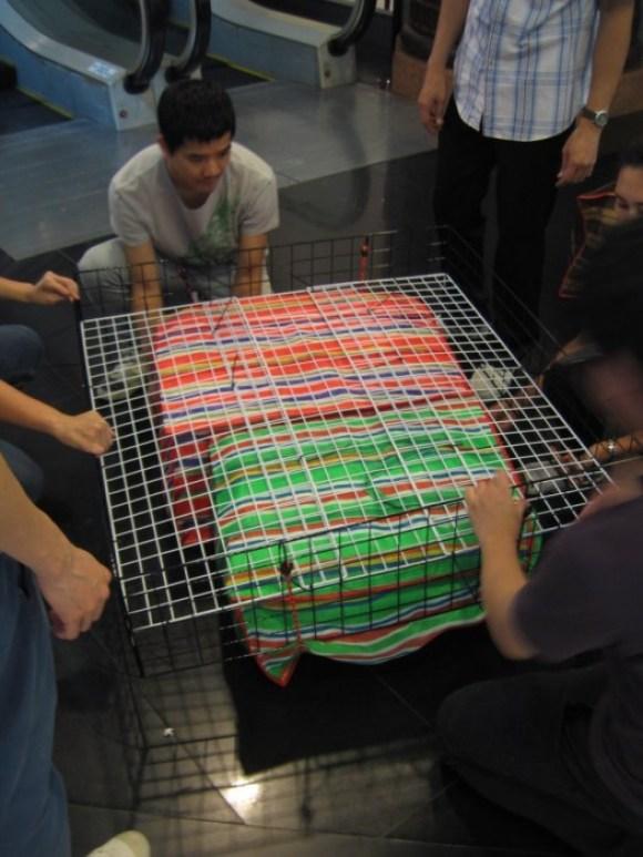 Floating pouches สร้างเรือจากกระเป๋าลอยน้ำแบบไทยๆ 16 - floating
