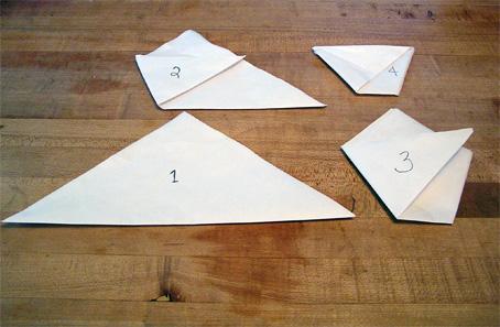 How To Make Origami Cups ภาชนะกระดาษใส่น้ำและอาหารแห้งยามน้ำท่วม 15 - DIY