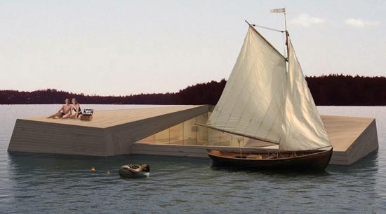 โลกวันพรุ่งนี้ เราอาจต้องปรับตัวอยู่กับน้ำ Floating Architecture 19 - Architecture