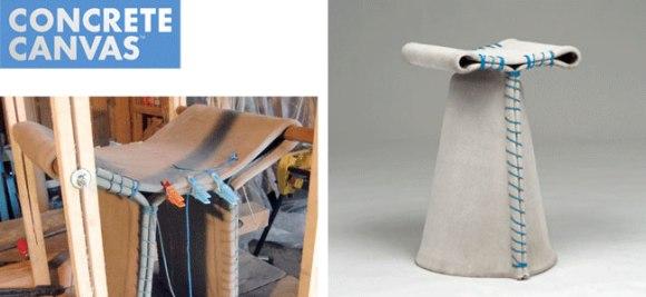Stitching Concrete  Chair  14 - canvas