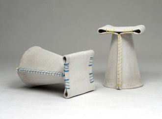 %name Stitching Concrete  Chair