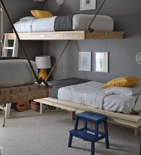 %name Hanging Beds เตียงนอนลอยหนีน้ำท่วม