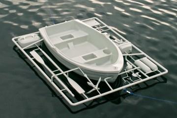 Boat equipmen-ชุดเรือประกอบ-พาหนะยามน้ำท่วม